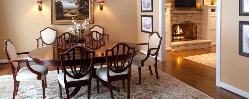 Scheipeter Kitchen Remodeling St. Louis - Elegant Dining Area