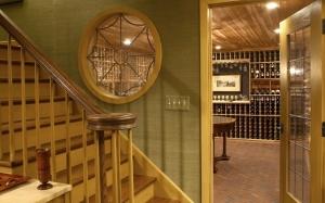 Scheipeter Basement Remodeling St Louis Wine Cellar Entrance
