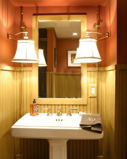 Scheipeter Bathroom Remodeling St Louis in Wood Panels