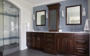 Scheipeter Bathroom Remodeling St. Louis Wooden Counter Top