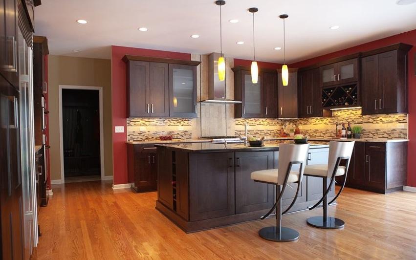 Scheipeter Kitchen Remodeling St. Louis Rose Red Motiff